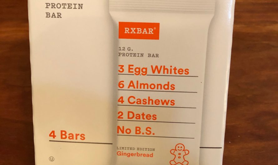 RXBAR Gingerbread Protein Bar