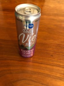 Pur Aqua Belle Vie Blackberry Cucumber Sparkling Water